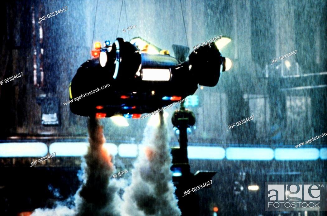 Stock Photo: Film 'Der Blade Runner' USA 1982, Regie: Ridley Scott, Filmszene   science fiction, los angeles 2019, zukunftsvision, zukunft, thriller, action, raumschiff.