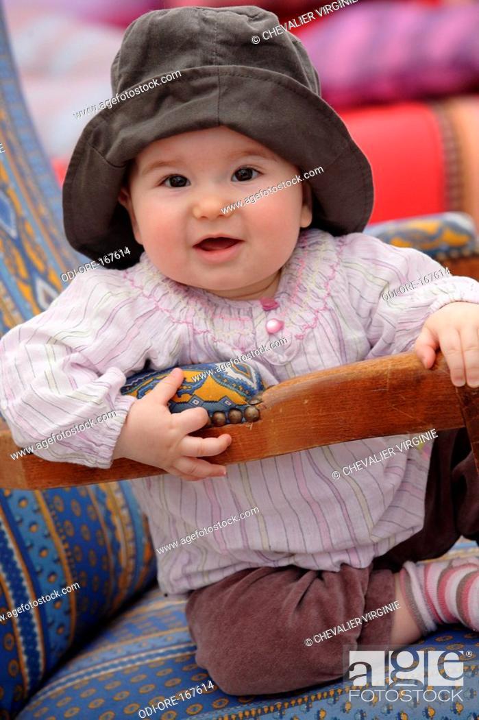 Stock Photo: Baby hat.