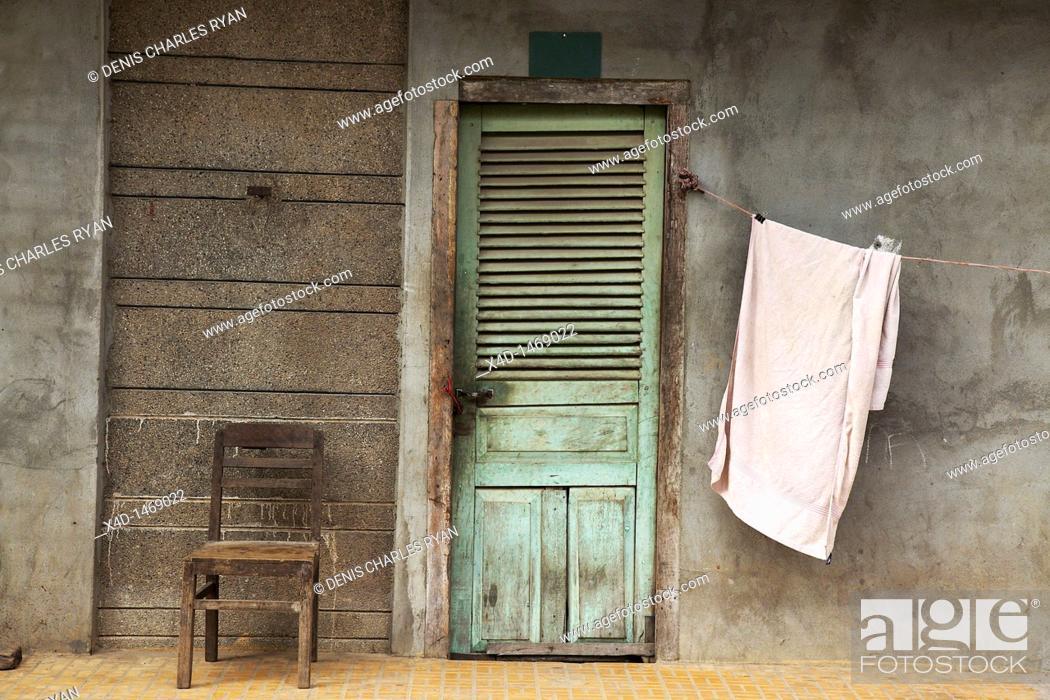 Stock Photo: Cambodia, Kampot, capital of Kampot Province in southern Cambodia.