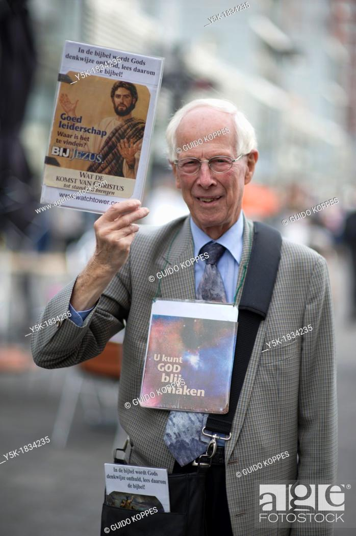 Rotterdam, Netherlands  Elder, Christian man and Jehovah's Witnesses
