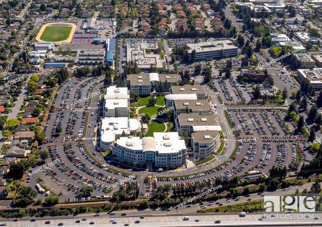Apple Campus I or Apple Campus 1, Cupertino, Silicon Valley