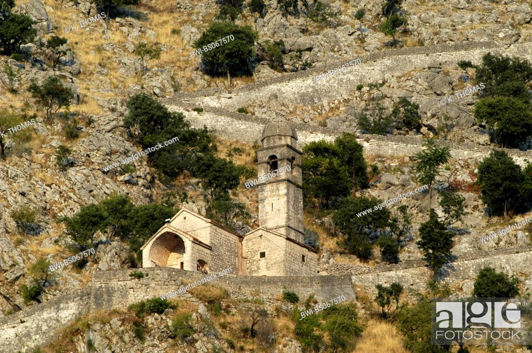 Stock Photo: UNESCO World Heritage, Kotor, Serbia-Montenegro, Montenegro, Kotor.