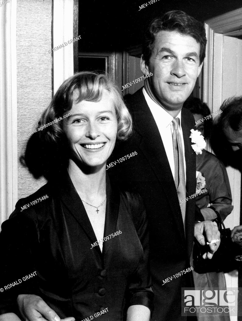 VIRGINIA MCKENNA and BILL TRAVERS The couple, who were married