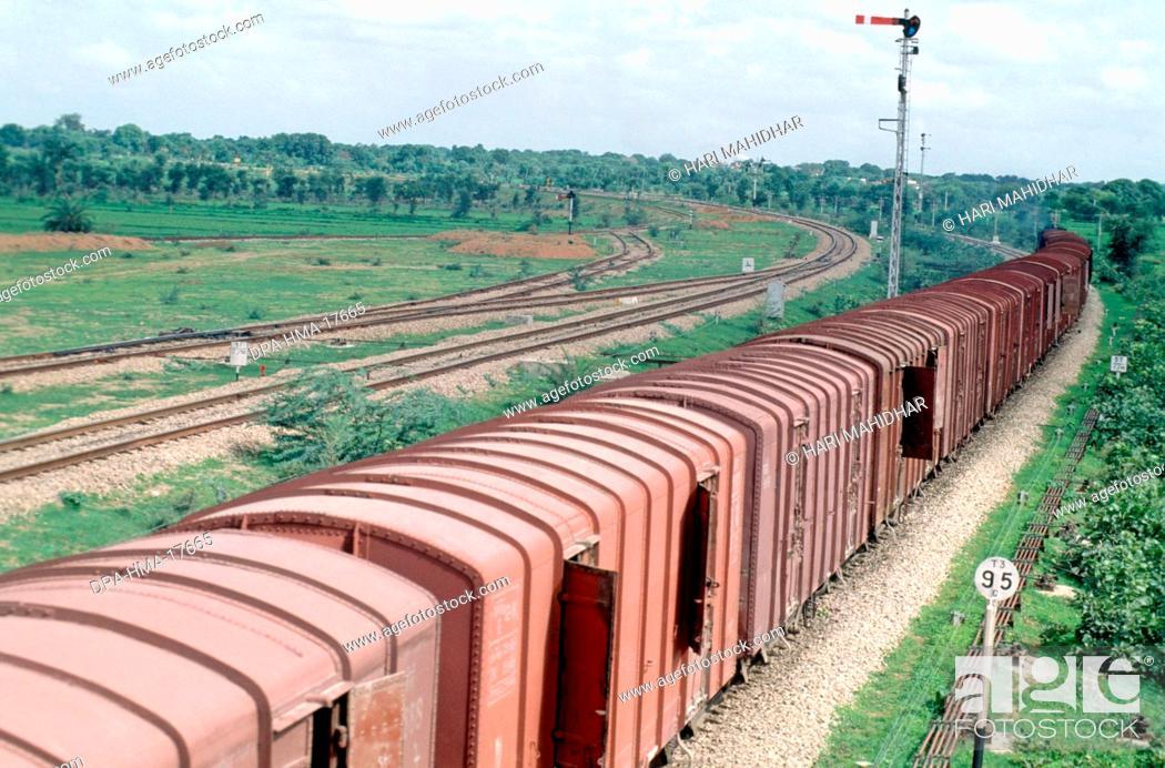 Stock Photo: Trains Railways.