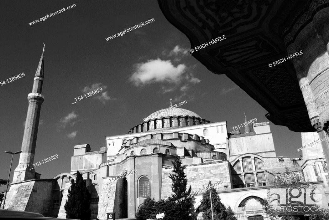 Stock Photo: Hagia Sophia in Istanbul.