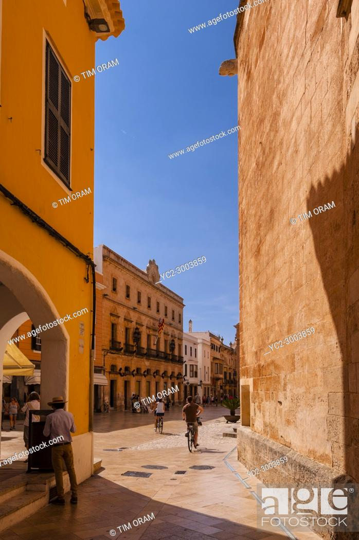 Stock Photo: Ciutadella de Menorca , Menorca , Balearic Islands , Spain.