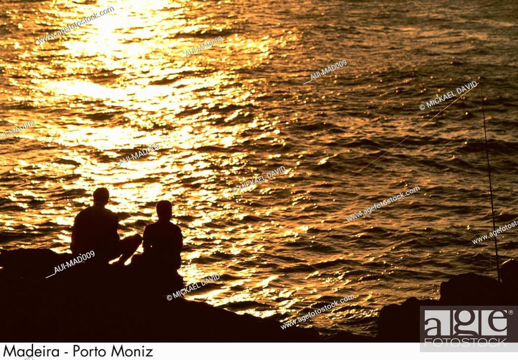 Stock Photo: Portugal - Madeira - Porto Moniz.