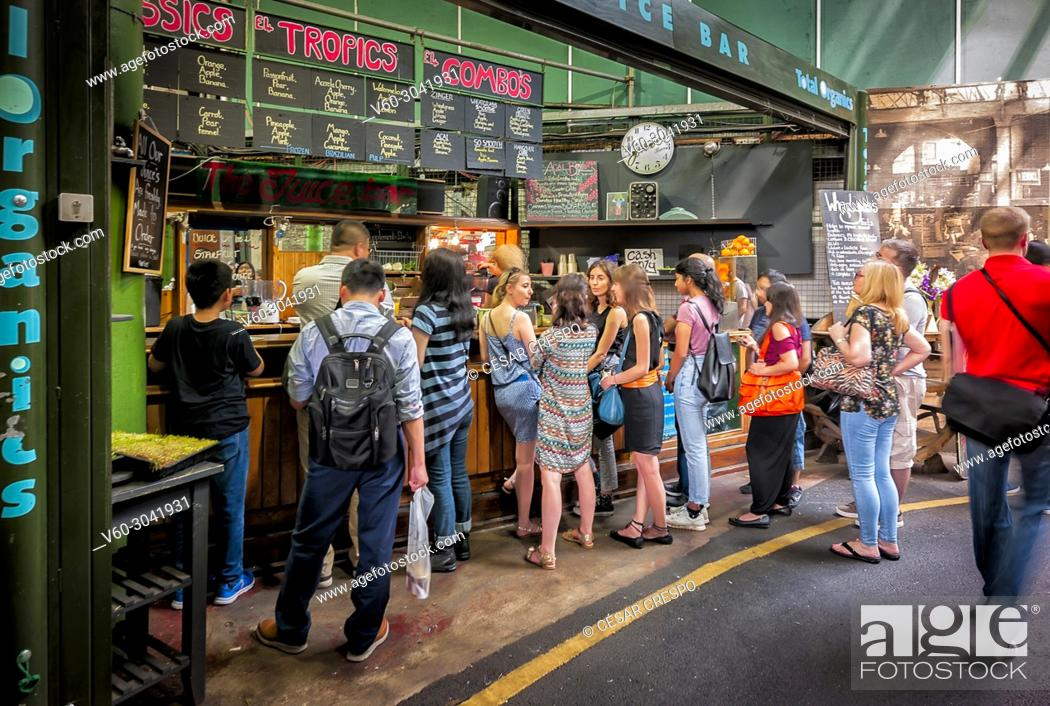 Stock Photo: -Borough Market-London (United Kingdom).