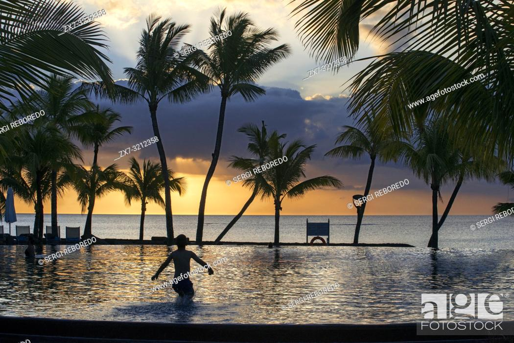 Imagen: Pol of Trou aux Biches Hotel and Resort, Mauritius, Mascarenes, Indian Ocean.