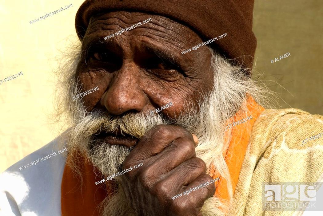 Stock Photo: India, Haryana, Kurukshetra, portrait.