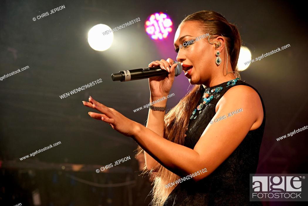 Rebecca Ferguson and Bratavio perform live at London's G-A-Y