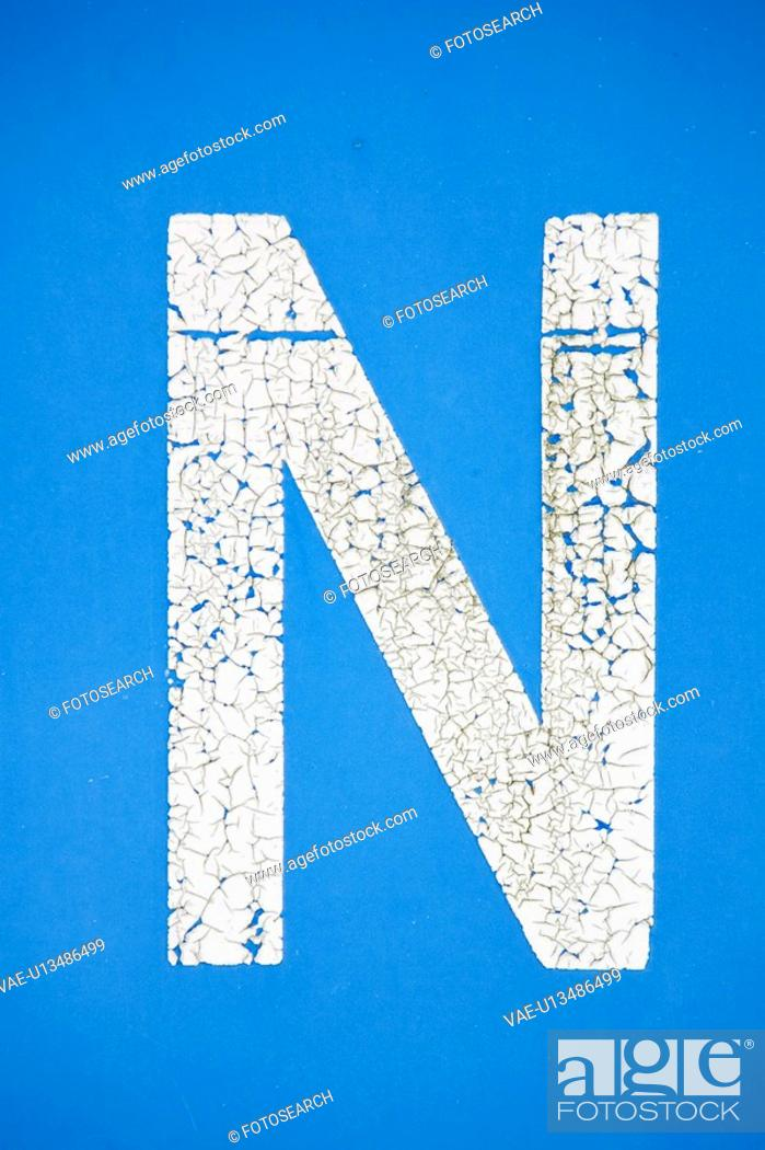 Stock Photo: Wall, Painting, Word, Art, Paint, Design.