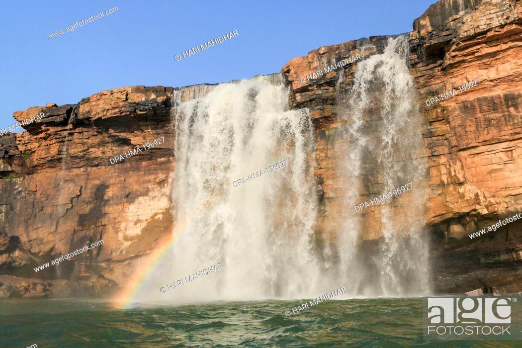 Imagen: Chitrakot waterfalls, bastar, chhattisgarh, india, asia.
