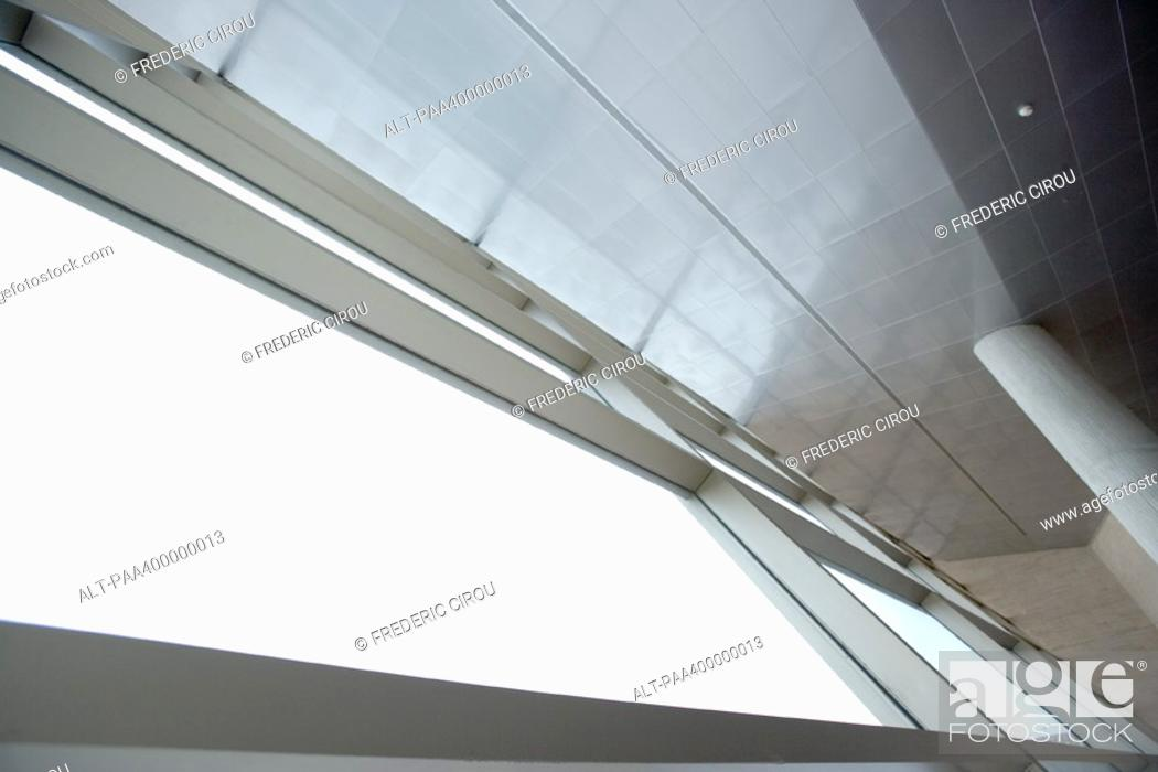 Stock Photo: Architectural view of building interior.