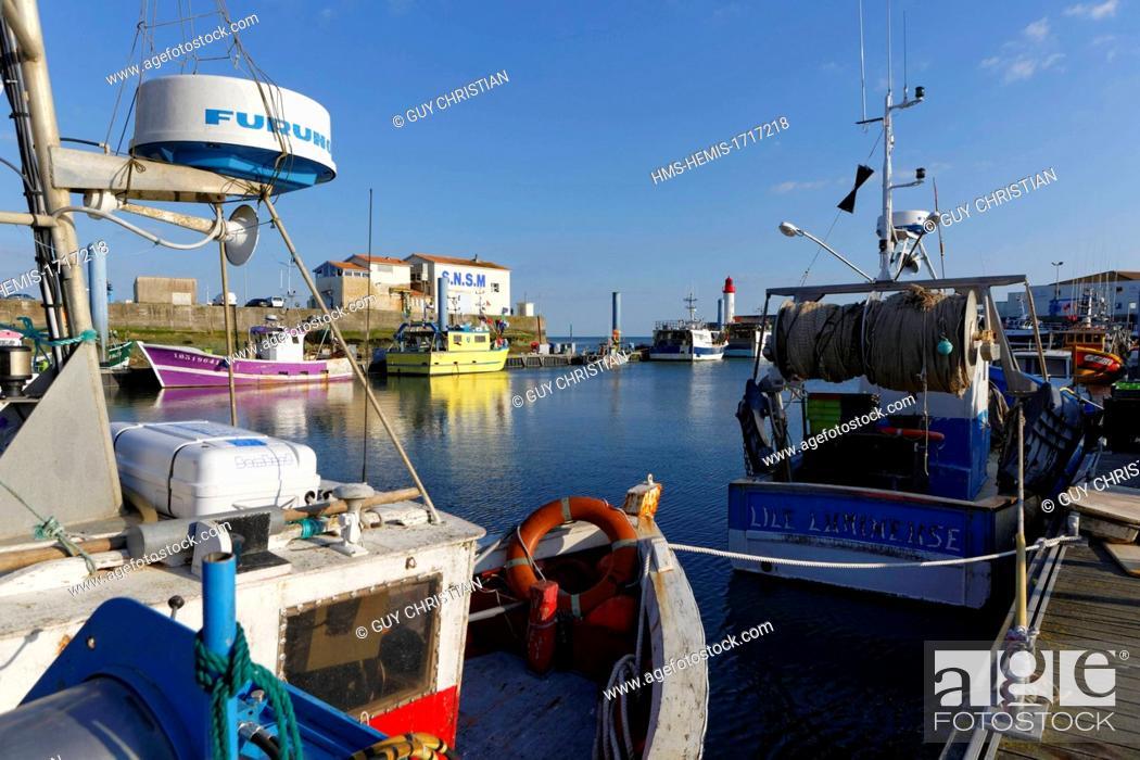 France Charente Maritime Ile D Oleron Oleron Island La Cotiniere