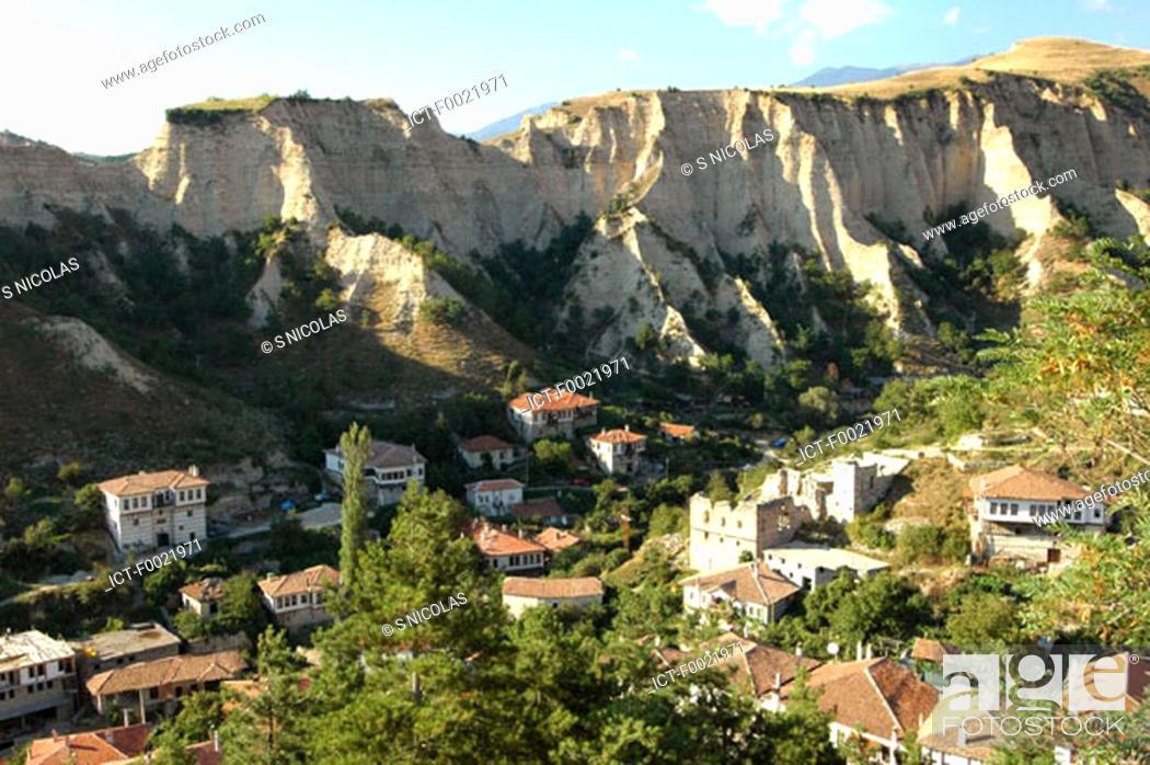 Stock Photo: Bulgaria, Melnik.
