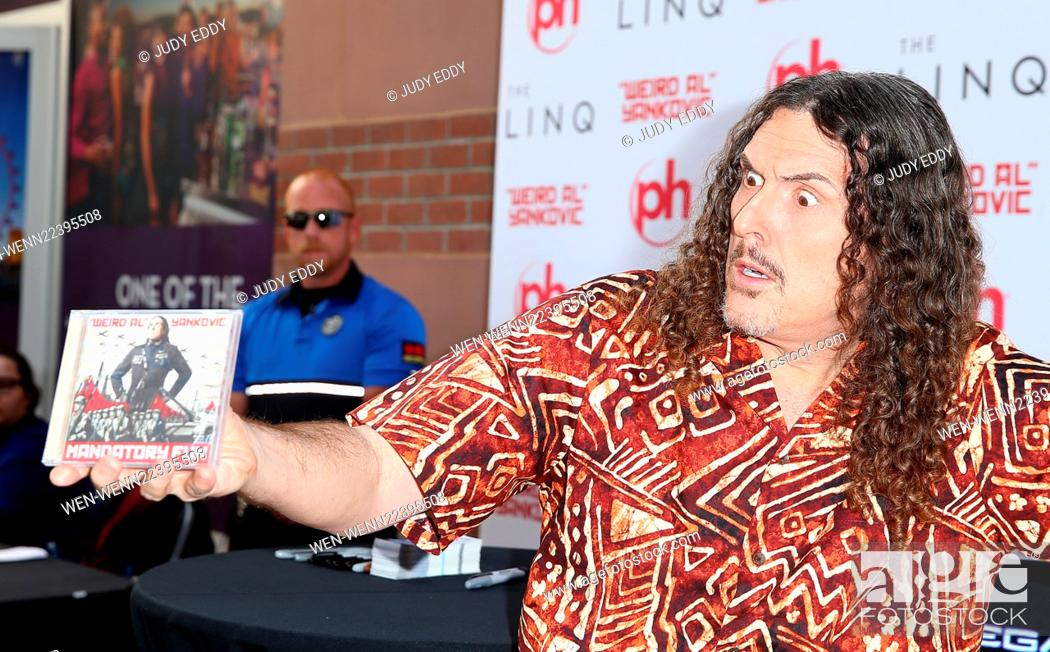 Weird Al Yankovic Autograph Signing at The Linq Promenade