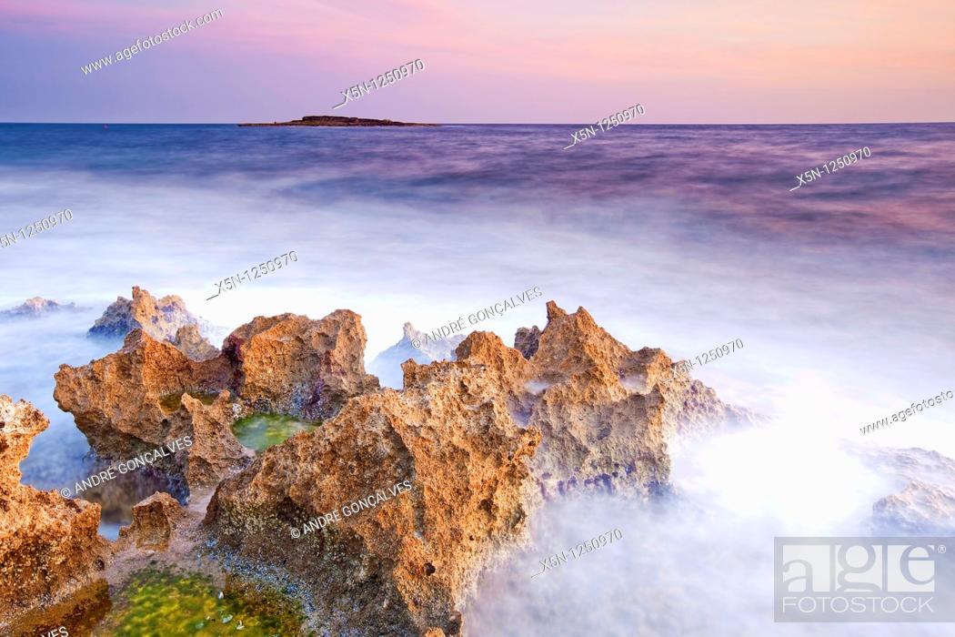 Stock Photo: Puglia Seascape, Italy.