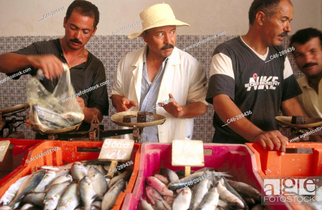 Stock Photo: Souk (market). Houmt Souk. Jerba. Tunisia.