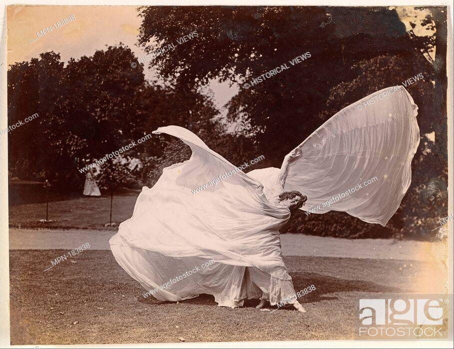 Stock Photo: [Loie Fuller Dancing]. Artist: Samuel Joshua Beckett (British, Shadwell, Stepney [London] 1870-1940 Bournemouth); Date: ca.