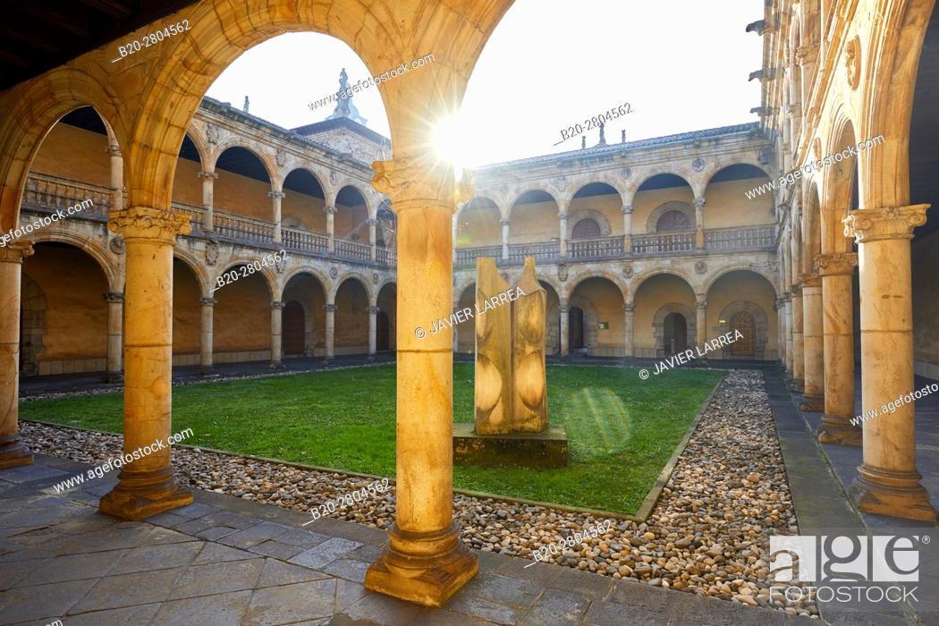 Stock Photo: Sancti Spiritus University, Oñati, Gipuzkoa, Basque Country, Spain, Europe.