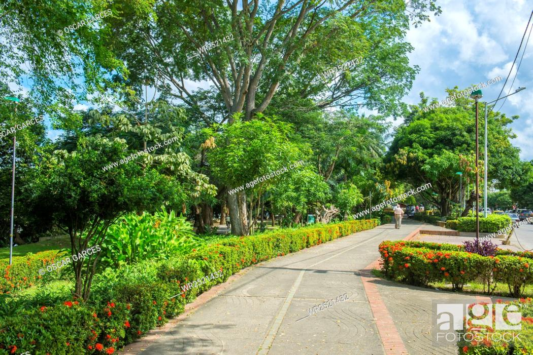 Imagen: Parque Simon Bolivar De Monteria, Monteria, Cordoba, Colombia.