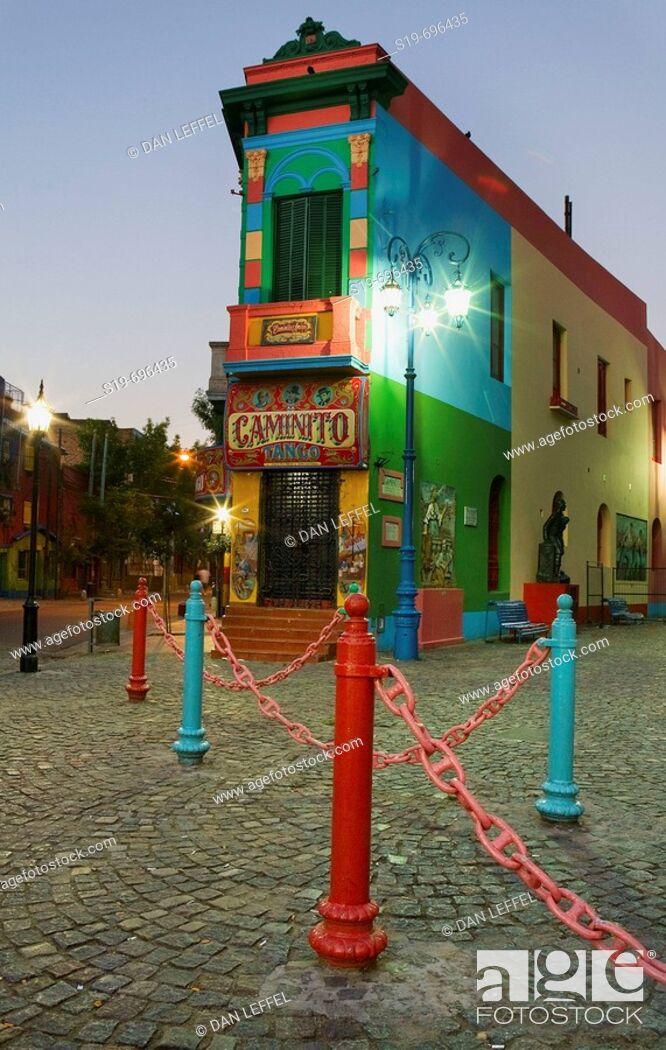 Stock Photo: La Boca, Buenos Aires. Argentina.