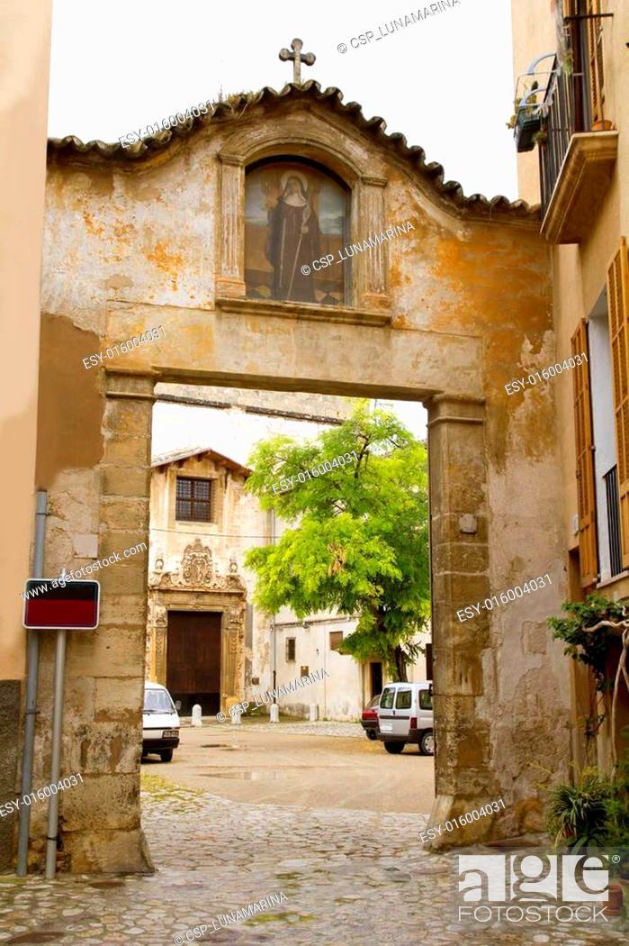 Stock Photo: Convento Santa Clara Palma de Mallorca Balearic islands.