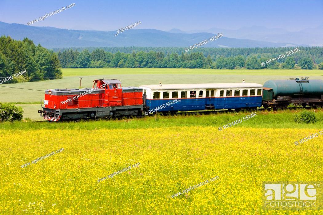 Stock Photo: train, Slovakia.