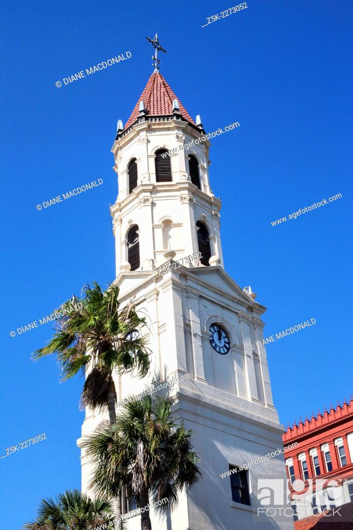 Imagen: The Cathedral Basilica of St. Augustine, St. John's County, Florida, USA.