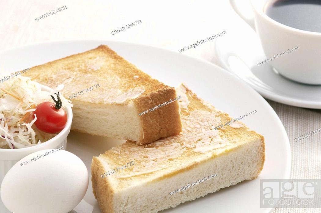Stock Photo: Toast.