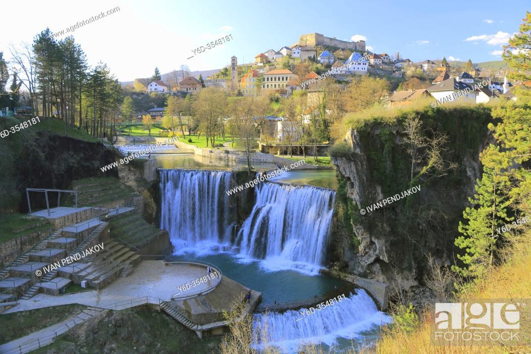 Imagen: Jajce, Central Bosnia Canton, Bosnia and Herzegovina.