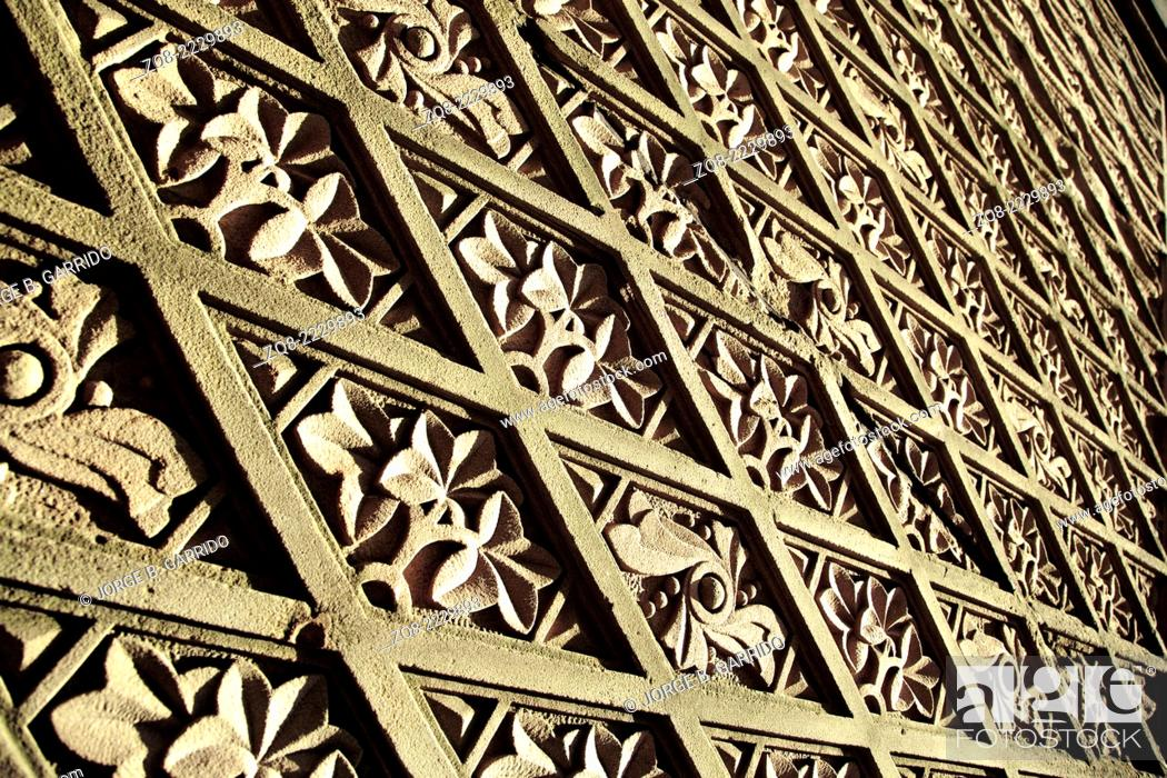 Stock Photo: Texture at Bethesda Terrace in New York City's Central Park.