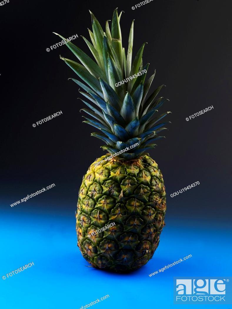Stock Photo: plants, pineapple, fruit, plant.