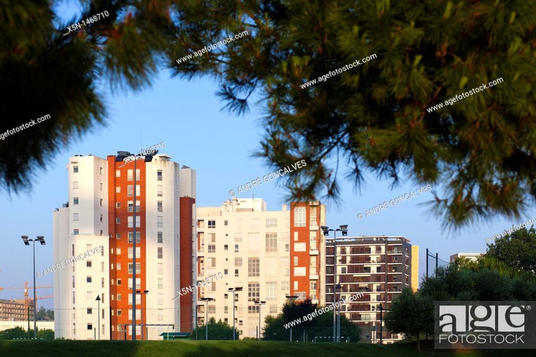 Stock Photo: Houses, Lisbon, Portugal, Europe.