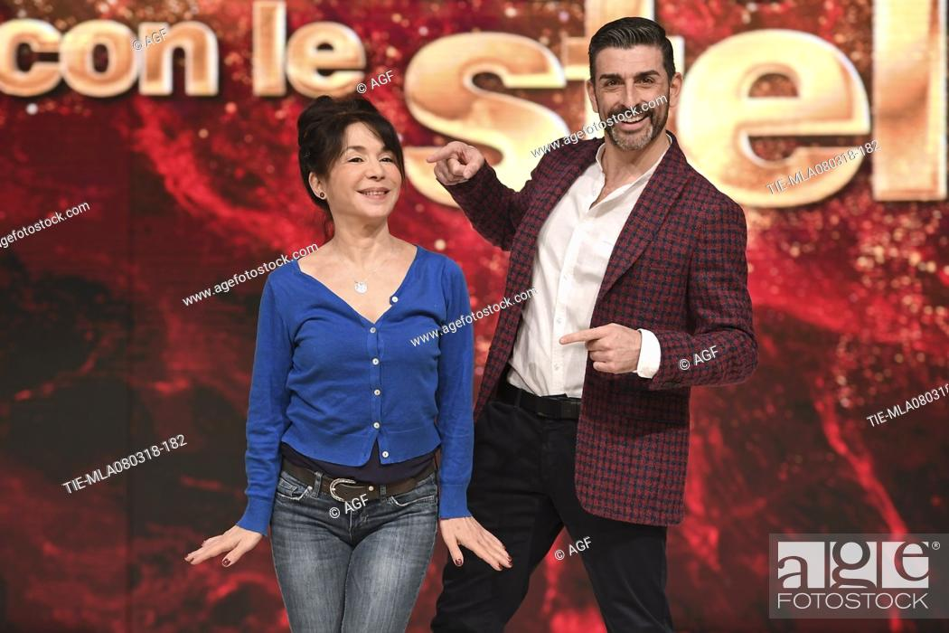 Nathalie Guetta Simone Di Pasquale During Dancing With The Stars