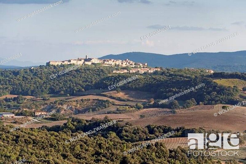Stock Photo: Tuscany Landscape.