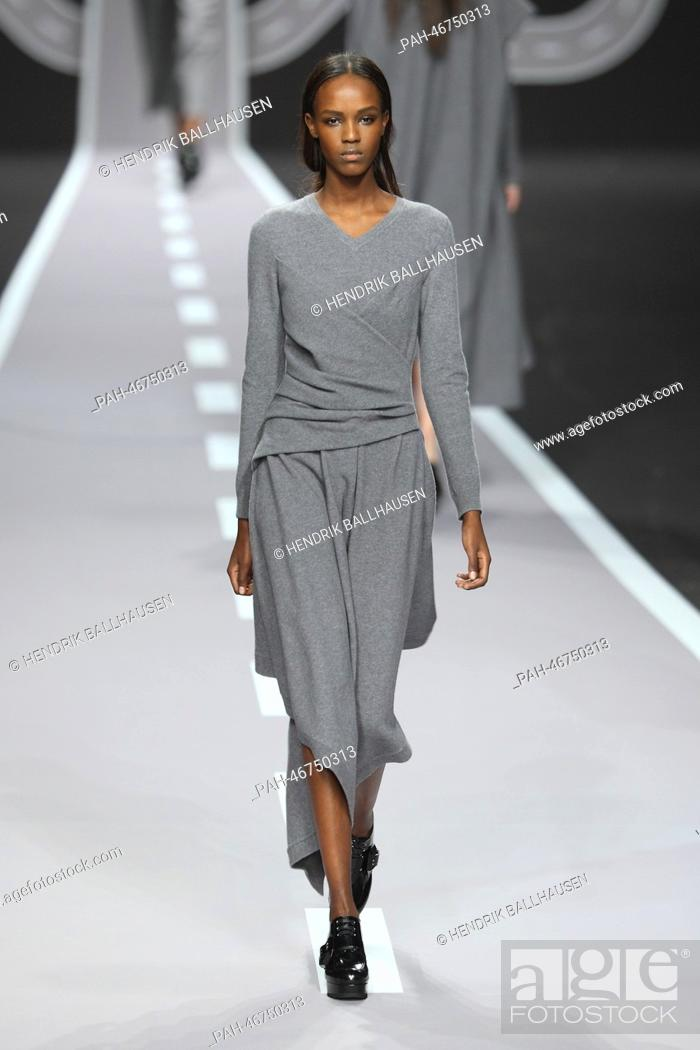 A Model Wears A Creation By Dutch Designers Viktor Horsting And Rolf Snoeren As Part Of Viktor Stock Photo Picture And Rights Managed Image Pic Pah 46750313 Agefotostock