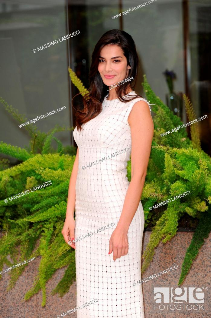 Stock Photo: Ilaria Spada; Spada; actress; celebrities; 2015;rome; italy;event; photocall; se Dio vuole.