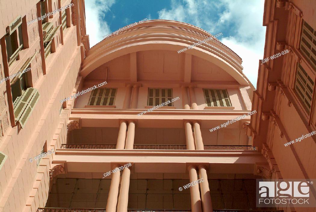 Stock Photo: Facade, architecture, Brazil.