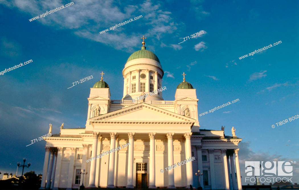 Stock Photo: Lutheran Cathedral. Helsinki. Finland.
