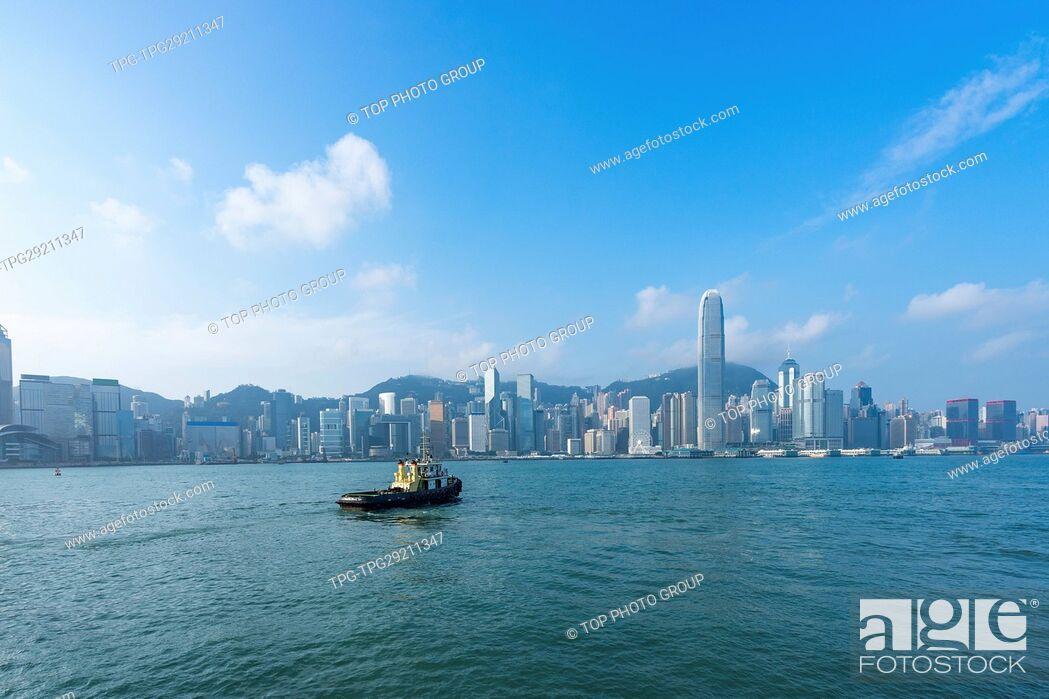 Imagen: Victoria Harbour;Hong Kong;China.
