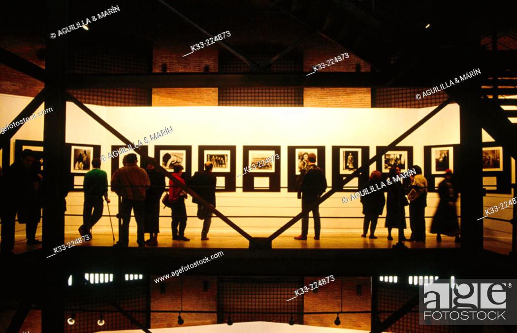 Stock Photo: Showroom 'Canal Isabel II' Madrid. Spain.