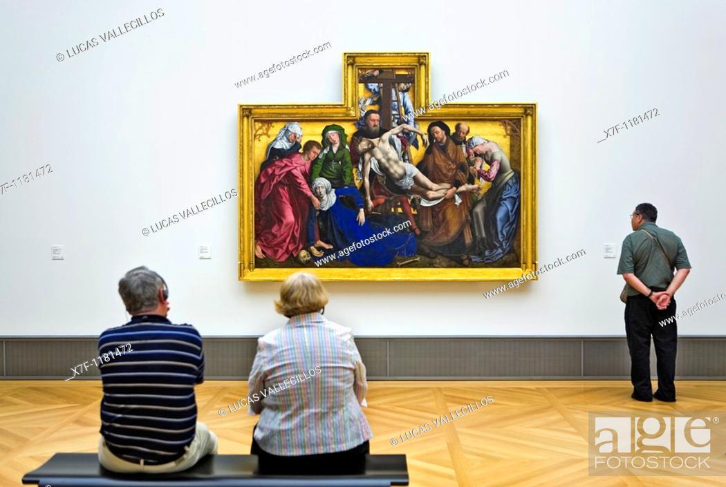 Stock Photo: Museum Island Bode Museum Südliche Niederlande XV Berlin  Germany.