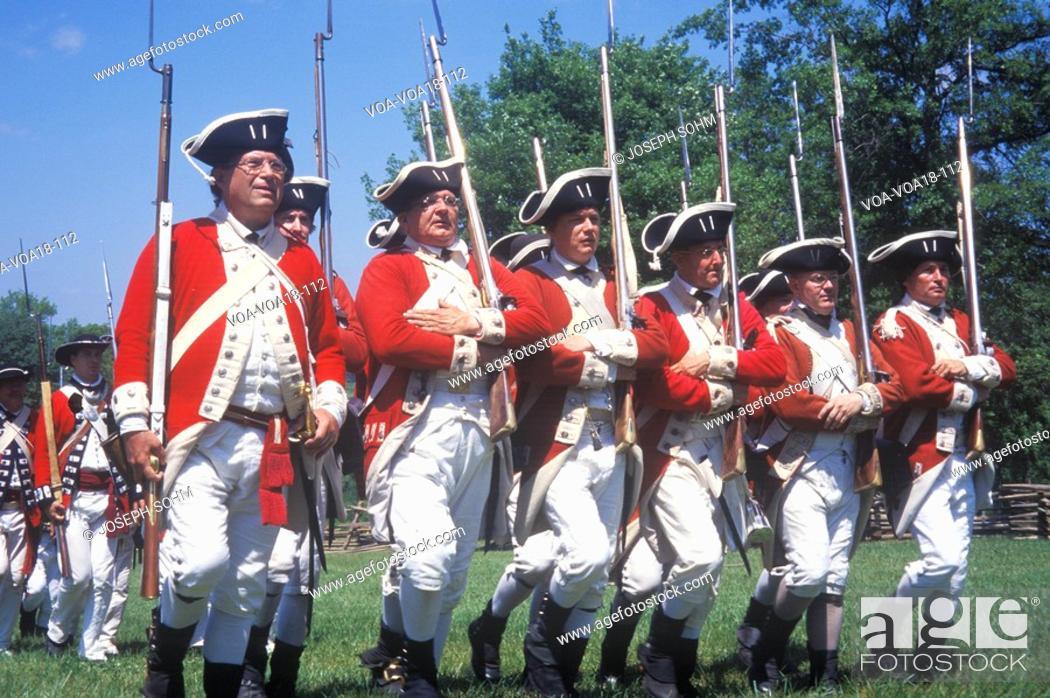 Revolutionary War Reenactment, Freehold, New Jersey, 218th