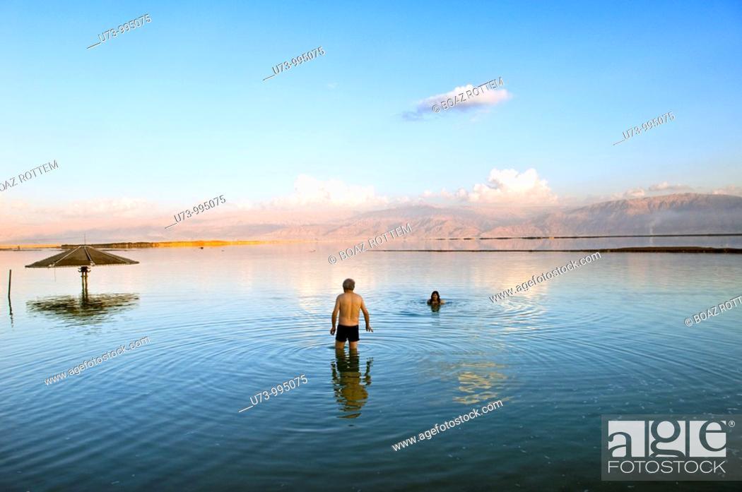 Stock Photo: The beautiful Dead sea..