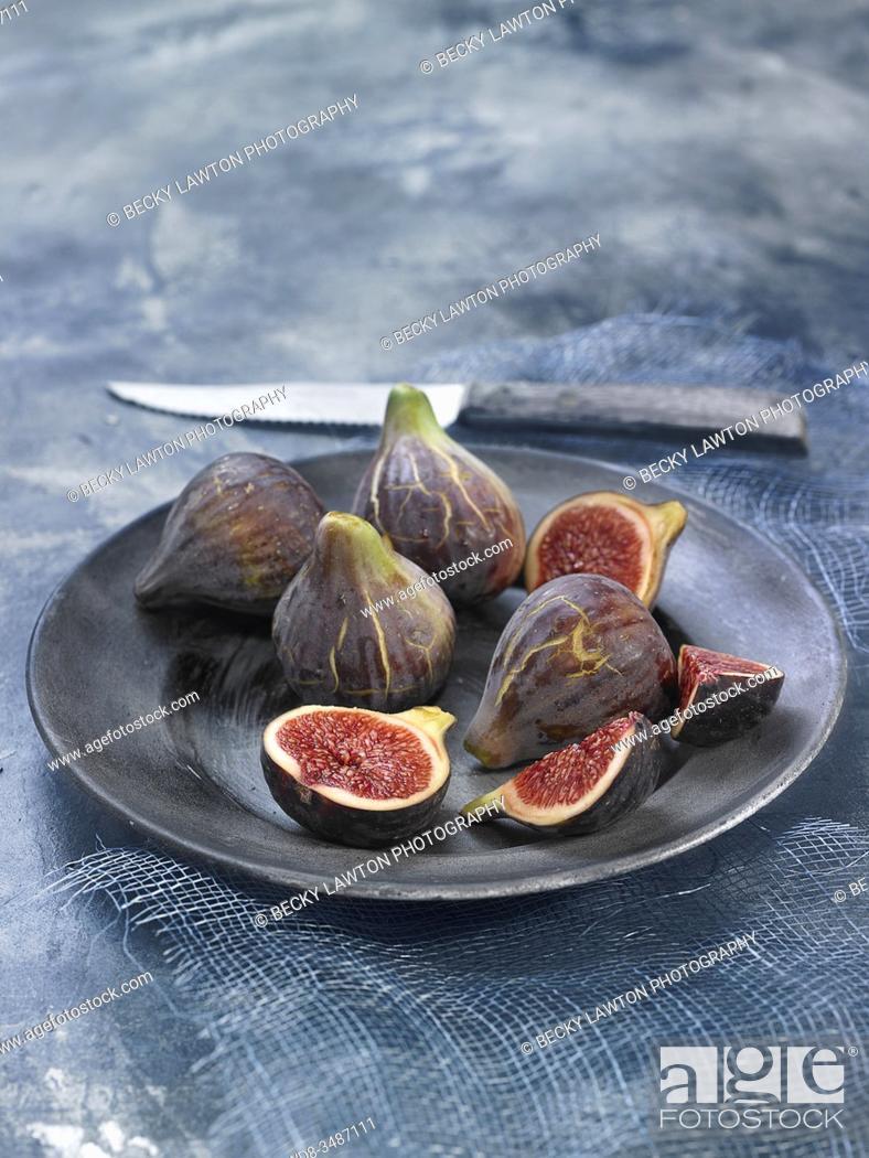 Stock Photo: higos / figs.
