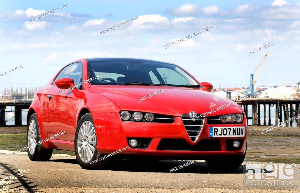 Stock Photo: 2007 Alfa Romeo Brera. Artist: Unknown.
