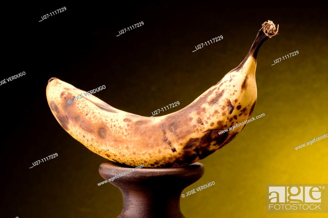 Stock Photo: Banana.