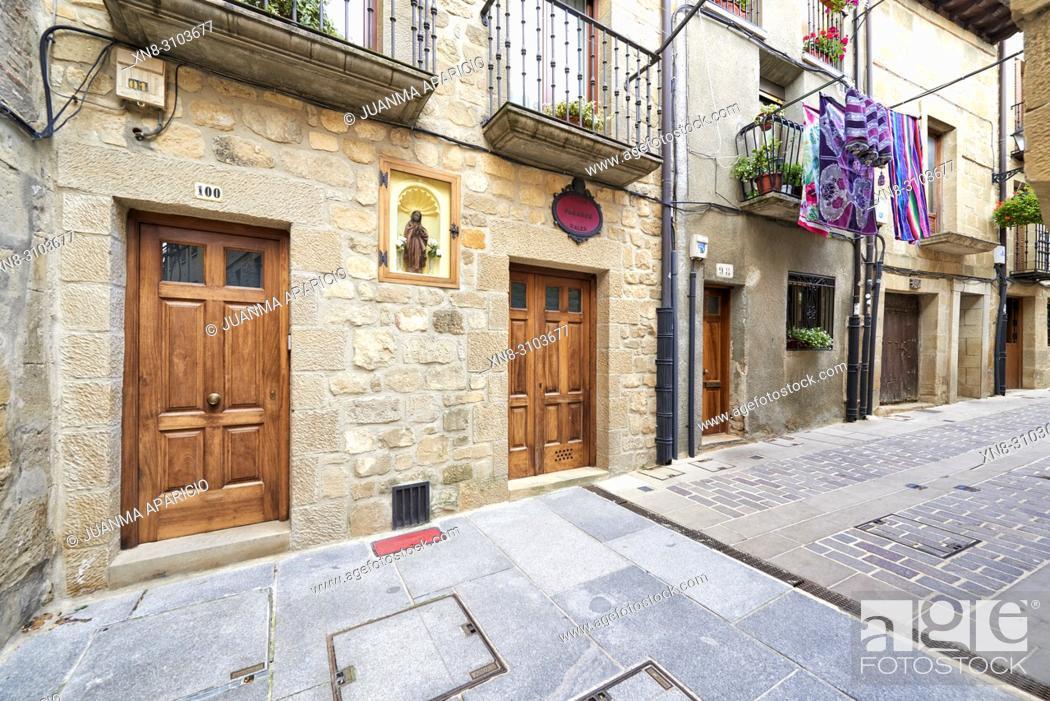 Imagen: Laguardia. Rioja Alavesa. Alava, Basque Country, Spain, Europe.